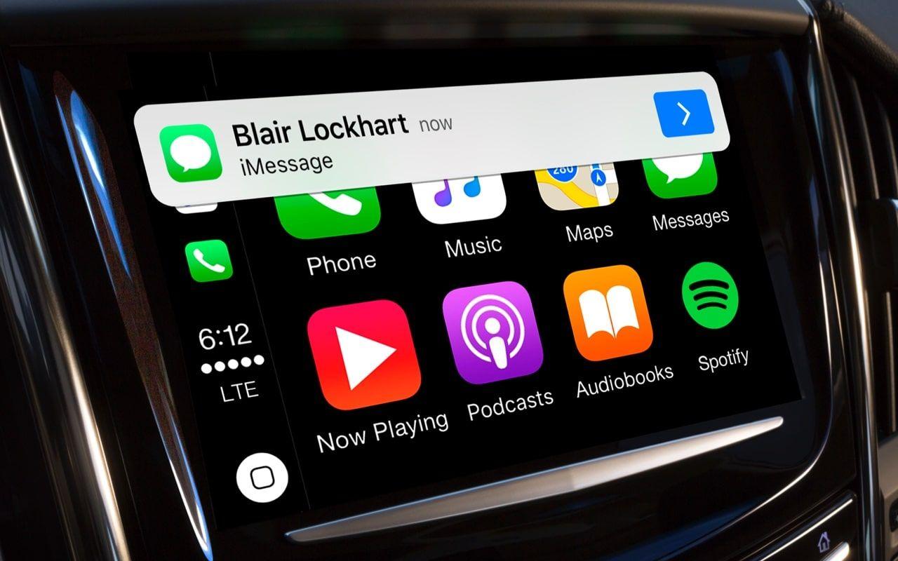 Apple CarPlay Text