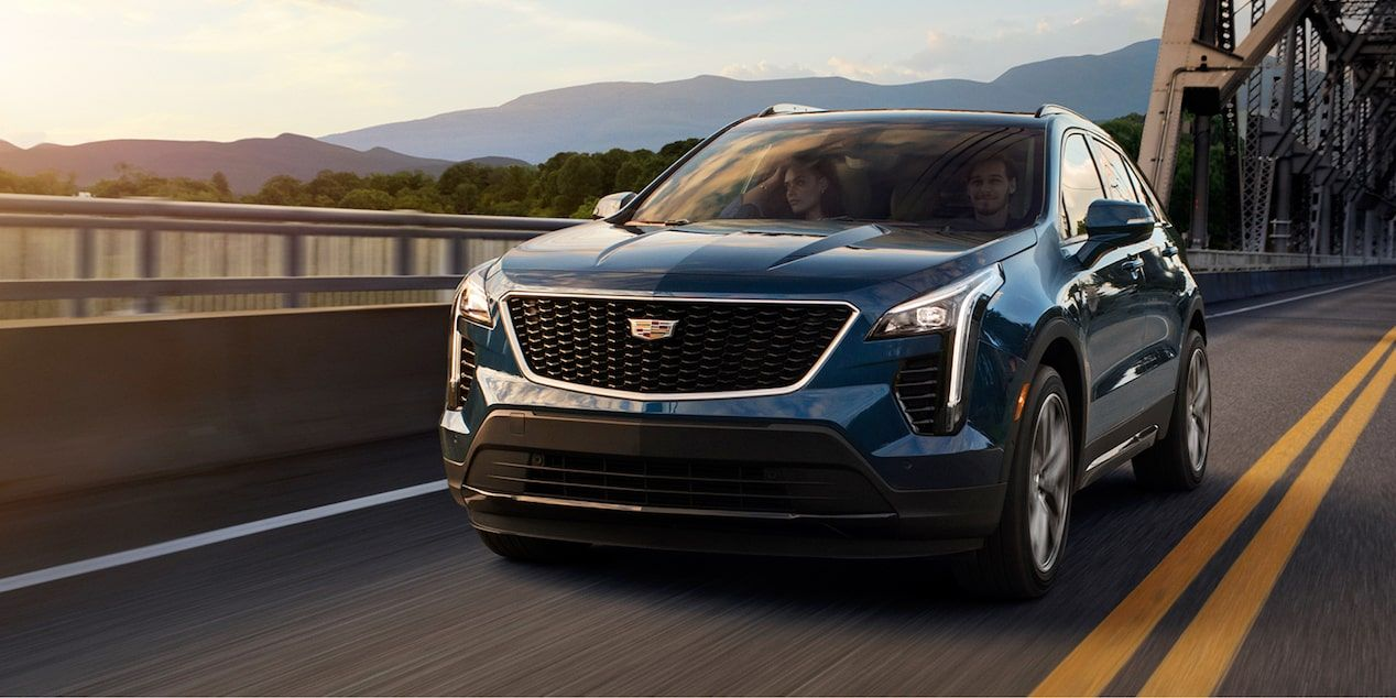 2020 Cadillac XT4 Compact SUV: Front Exterior View