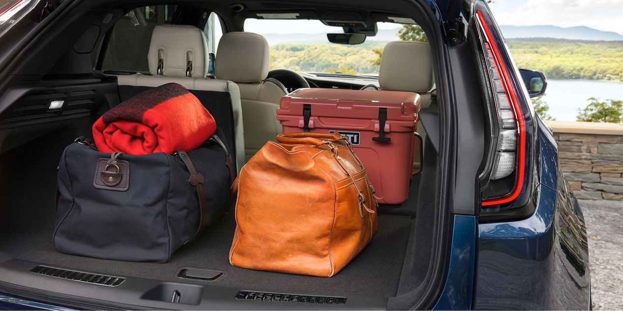 2020 Cadillac XT4 Compact SUV: Rear Cargo Space