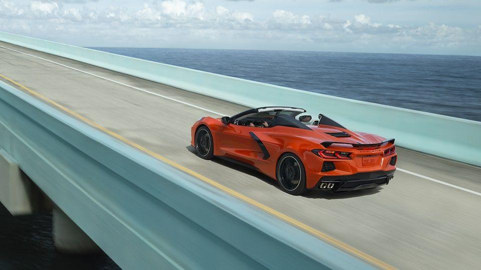 Orange-Corvette